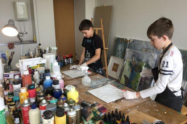 Workshop mit Marc und Rotin