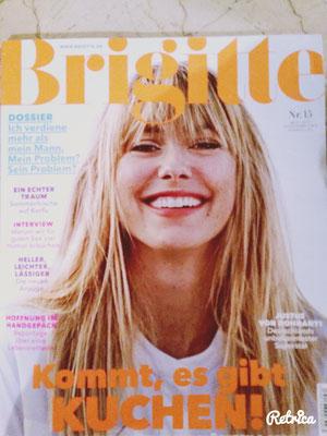 """""""Brigitte"""" Nr. 15 vom 08.07.2015"""