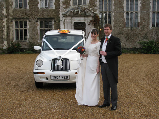 Fiona and William, Loseley House, Surrey