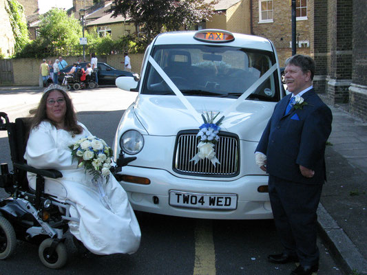 A Bride is A Bride wheelchair or otherwise