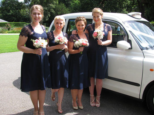 Helen's Bridesmaids, Pembroke Lodge, Richmond Park