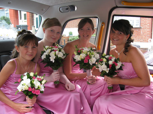 4 Bridesmaids no problem can carry 5