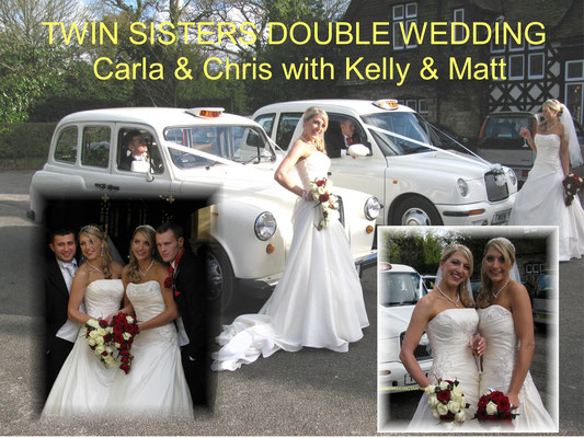 Twin Sisters double wedding-Surrey