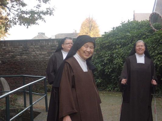 niederländische Schwester mit Besuch aus Aachen