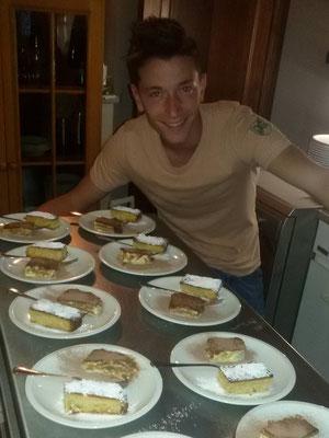 La cucina dell'agriturismo