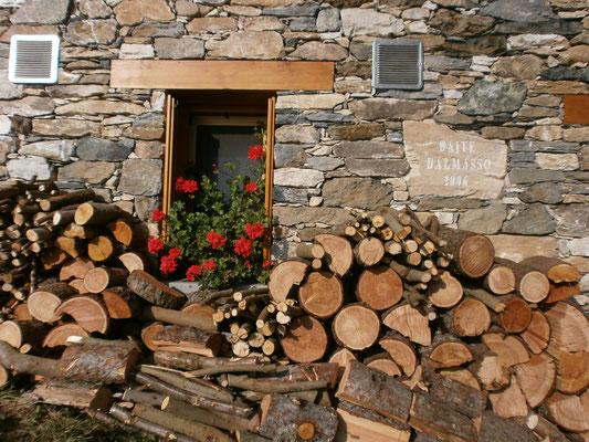 Costruzioni tipiche dell'Alta Valle Po