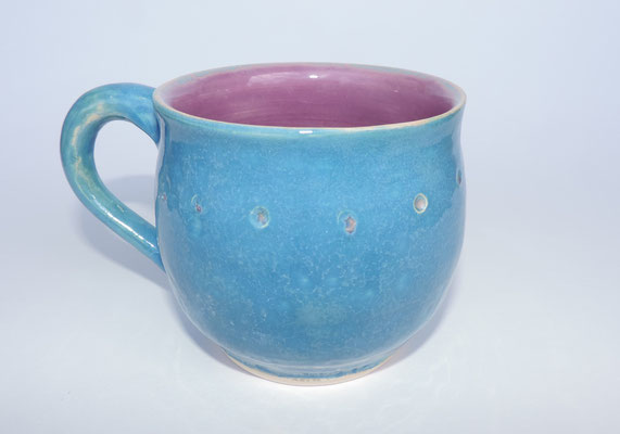 Tasse - blau/violett