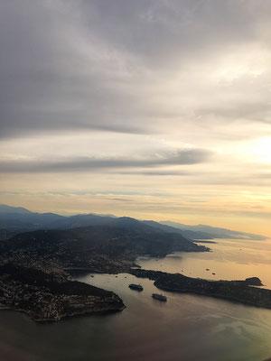 Saint Jean Cap Ferrat en avion