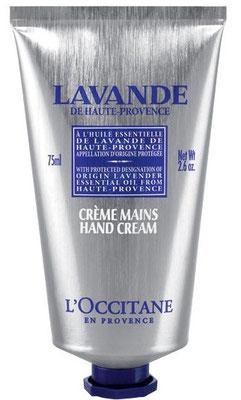 occitane mains lavande