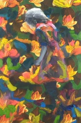 Alice, Öl auf Stoff, 150 x 100cm, 2009