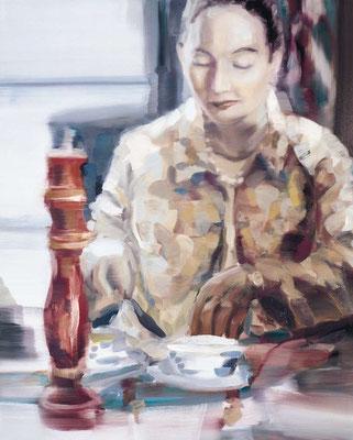 Mit der rechten Würze, Öl auf Leinwand, 130 x 110cm, 2005