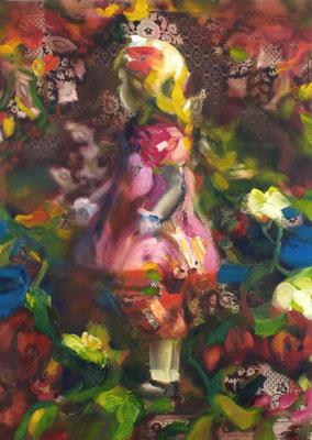 Es war einmal, Öl auf Stoff, 140 x 100cm, 2009