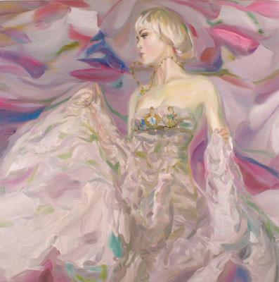 Victorias Geheimnis, Öl auf Leinwand, 160 x 160cm, 2007