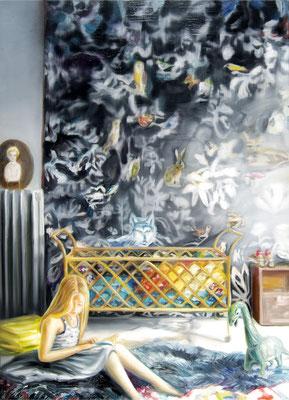 Fairy tale, Öl auf Leinwand, 180 x 130cm, 2016