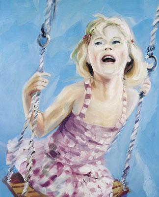 Auf dem Weg ins Glück, Öl auf Leinwand, 170 x 140cm, 2006