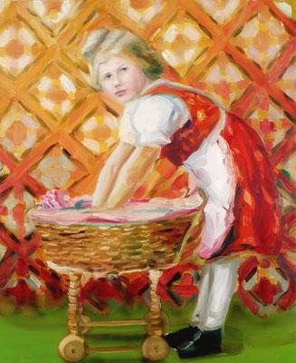 Lotte, Öl auf Leinwand, 170 x 140cm, 2009