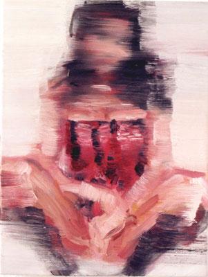 Kleine Orchidee, Öl auf Leinwand, 40 x 30cm, 2003
