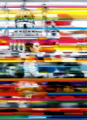 Wien, Öl auf Leinwand, 150 x 110cm, 2014