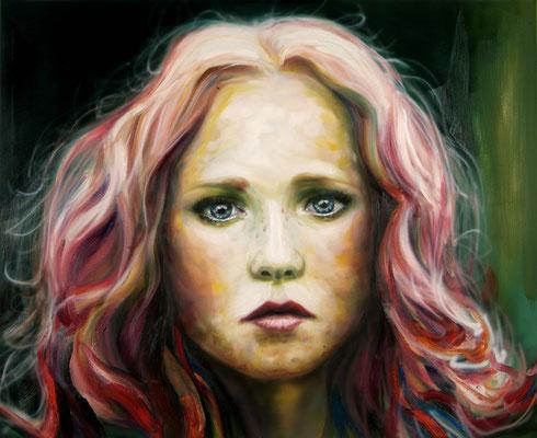Marie, Öl auf Leinwand, 120 x 150cm, 2015
