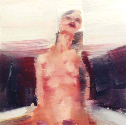 Vanessa, Öl auf Holz, 30 x 30cm, 2003