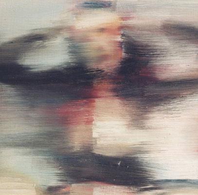 Tokio schoolgirl phantasy, Öl auf Holz, 30 x 30cm, 2003