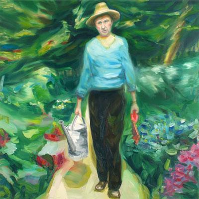 Zeit für Wunder, Öl auf Leinwand, 160 x 160cm, 2008