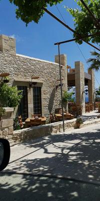 Restaurant Gramvousa bei Tag Kreta