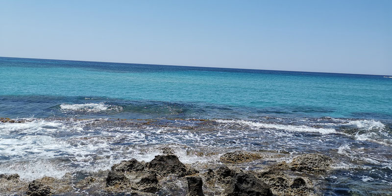 Falassarna Strand linke Seite