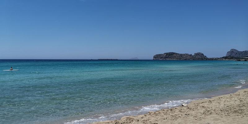 Falassarna Strand rechtr Seite