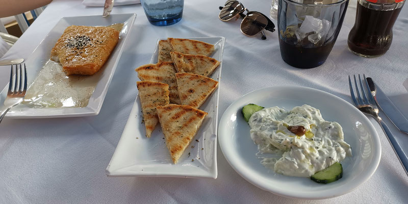 Restaurant Evanna Vorspeise Agios Nikolaos