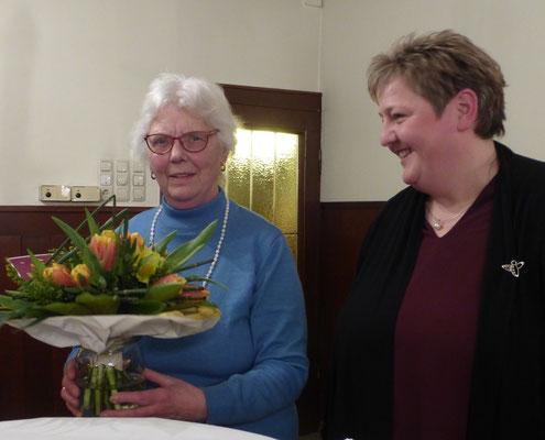 Ortsvertrauensfrau Margret Knoop wird verabschiedet