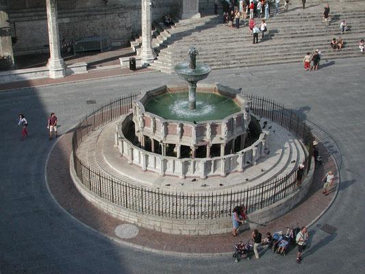 The Fontana Maggiore, Perugia