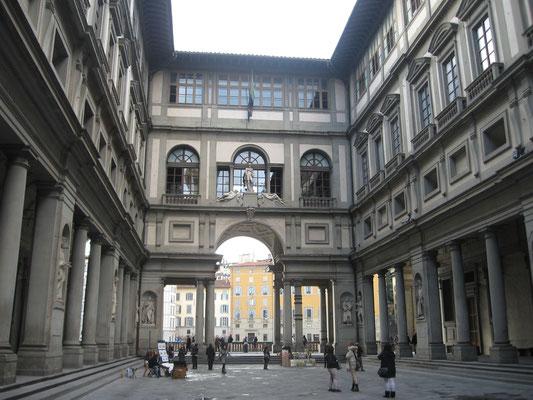The Uffizi Gallery, Florence