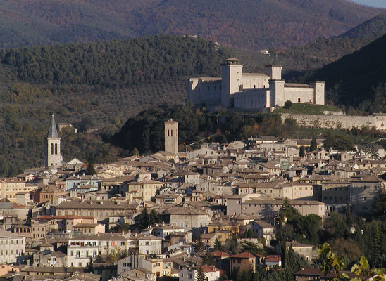 View of Spoleto