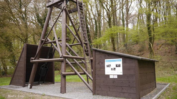 Kleinbergbau in Bochum: Die 2015 wiederrichtete Zeche Haunert(1946-1959)