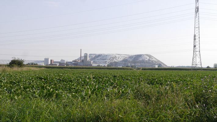 Betriebsanlagen der Schachtanlage Hugo. Der Förderturm wurde vor einigen Jahren niedergeführt. Die verbliebenen Tagesanlagen werden weiterhin durch die K+S AG genutzt