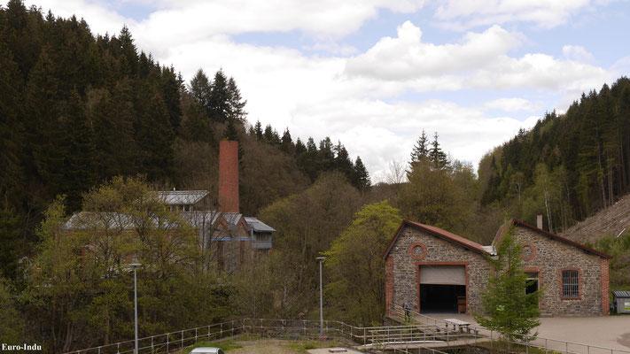 Kesselhaus und Produktionshalle
