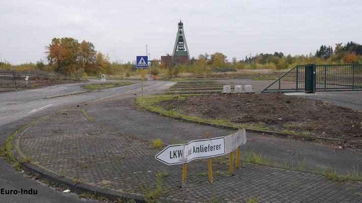 Ehemalige Zufahrt zum HA-Gelände
