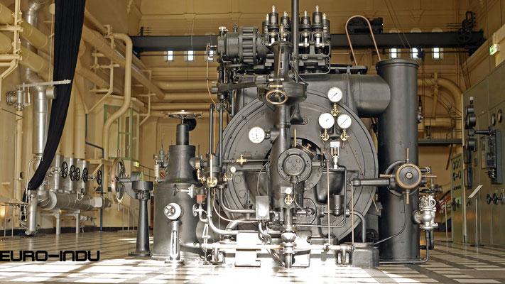 Alte Turbomaschine N° 3 von 1913