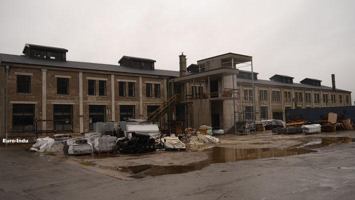 Betriebsgebäude der Grube, und des Bahnhofes Hoehl