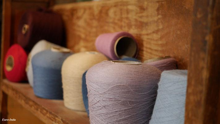 Das Endprodukt der Nordwolle,welches weiter Verkauft wurde an Textilfabriken