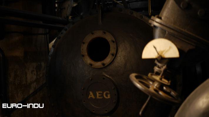 AEG Kondensator der Turbomaschine 3