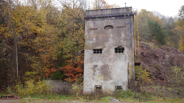 Brecherturm(Concasseur) und Stollenmundlöcher
