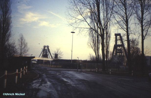 Dorsten-Barkenberg, Außenschachtanlage Wulfen. 2002 wurde die Anlage niedergelegt