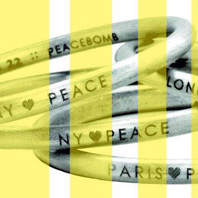 Germany loves Peace - exklusive Armreifen bei fair & fine