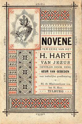 Novene ter eere van het H. Hart van Jezus