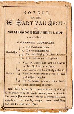 Novene tot het H. Hart van Jesus