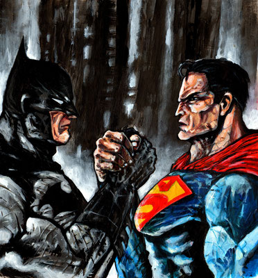 Batman VS Superman  30x34 2015