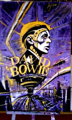 david Bowie 60x90
