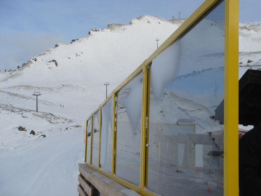 Windschutz in den Alpen
